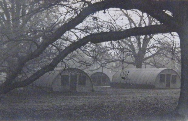 Mission huts in southern part of park.