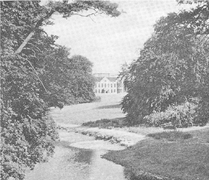 Lilford Hall from River Nene